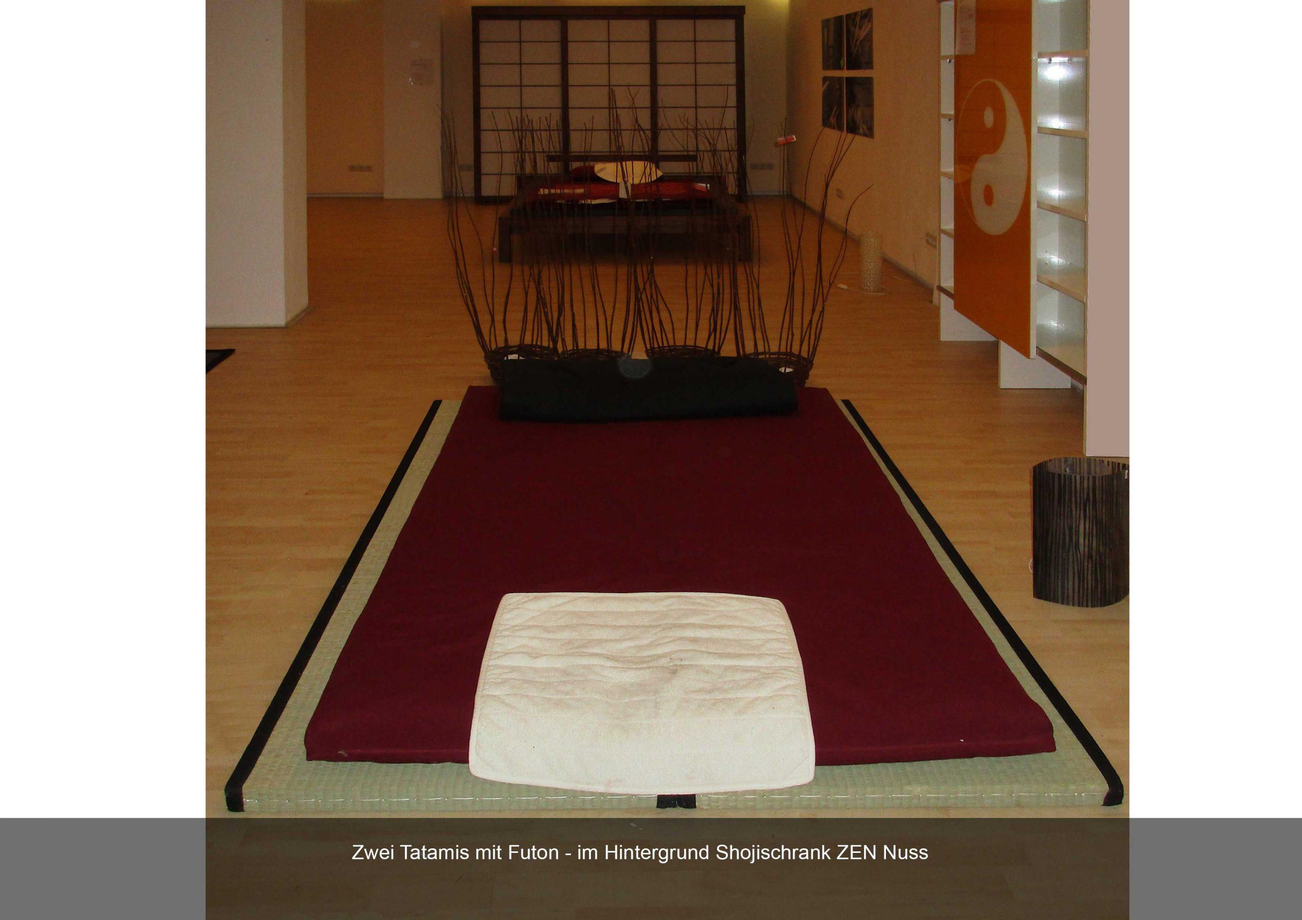 Tatami High Quality Futon Schojischrank Nussbaum ZEN
